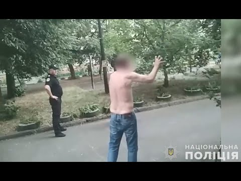 Поліція Полтавщини: Поліція затримала полтавця, який погрожував підірвати багатоповерхівку
