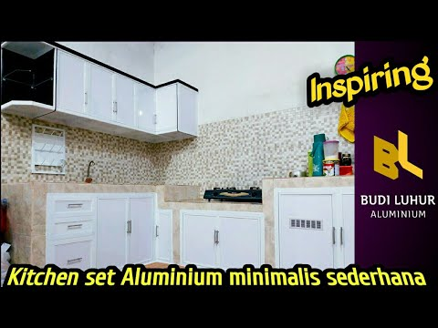 Ide Kitchen Set Minimalis Sederhana Untuk Dapur Idaman Anda Youtube