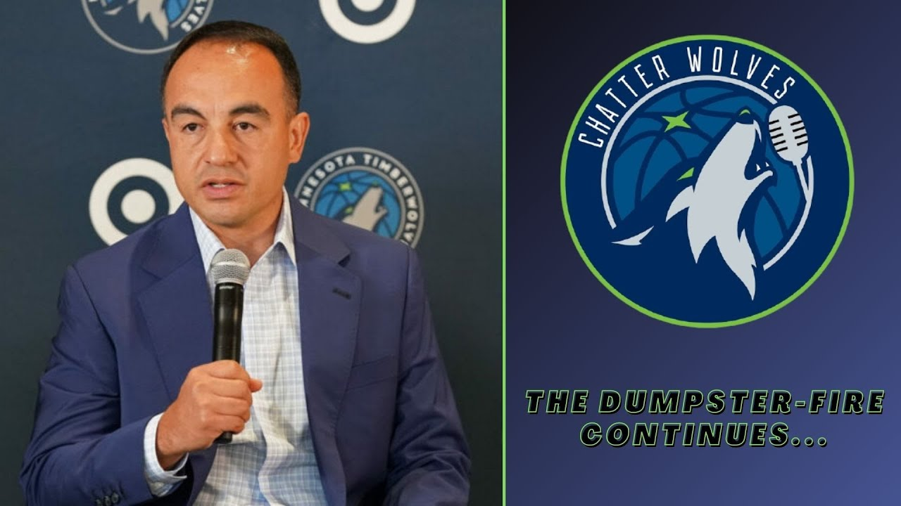 Timberwolves fired Gersson Rosas over dysfunctional front office ...