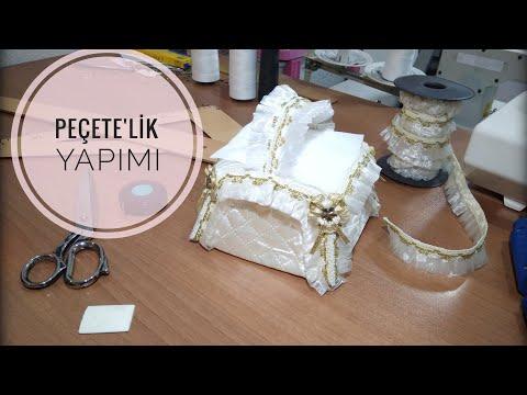 PEÇETE'LİK YAPIMI ( napkin making )