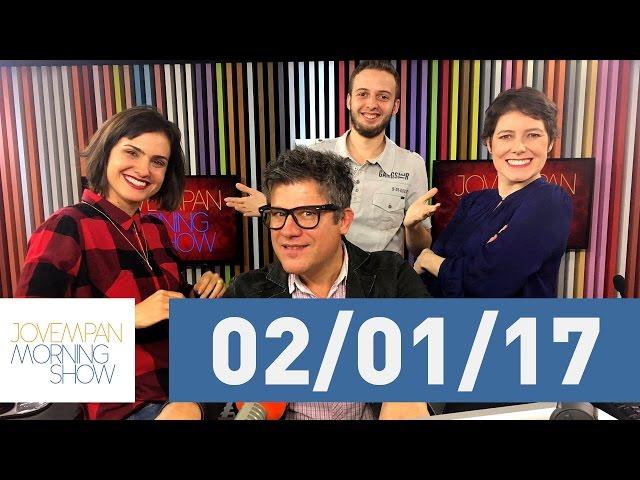 Morning Show - edição completa - 02/01/17