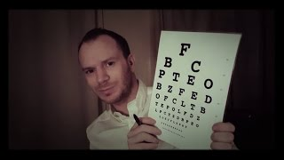 ASMR~Eye Examination~Optometrist Role Play~Male Doctor~Colour Vision Test~Soft Spoken