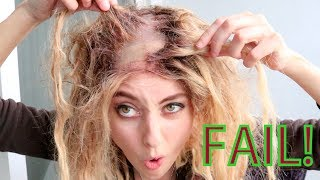 Hair Bleach Disaster / Horrible Wig Fail
