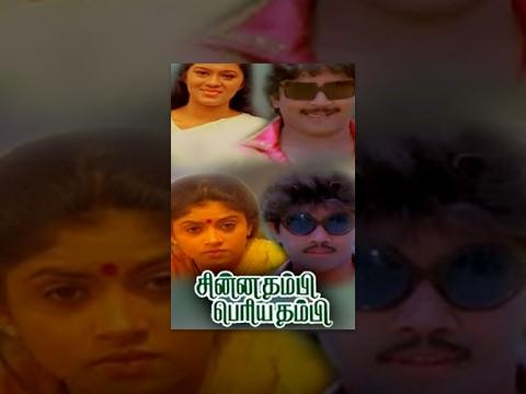Full Tamil Movie - Chinna Thambi Periya Thambi 1987 - Satyaraj, Prabhu, Nadhiya Moidu