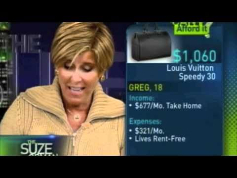 Greg Garavani on Suze Orman – Can I Afford It? Epi Leather Louis Vuitton Speedy 30