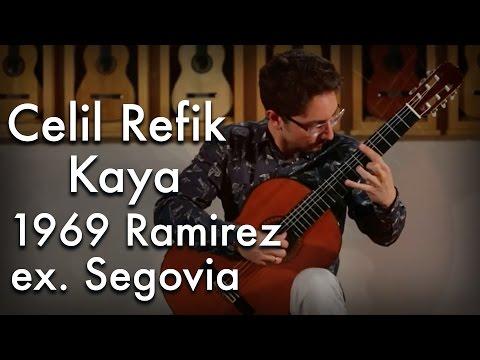Celil Refik Kaya - Gismonti 'Agua e Vinho' (1969 Ramirez ex. Segovia)