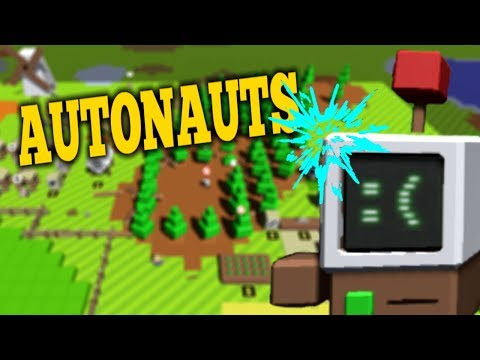 HOW TO TRAIN YOUR ROBOTS - Autonauts Gameplay - Building An Automated Robot Colony