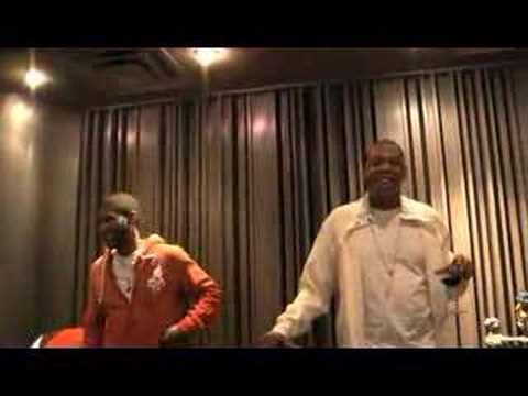 JD In Studio w/ Jay-Z & Usher & Anthony Hamilton (Claiming They Got Some Sh*t That Gon F*Ck Yall Up)