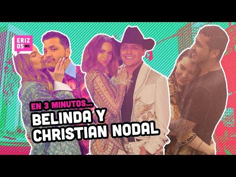 ¿Cómo se conocieron Belinda y Christian Nodal? | En 3 minutos... | Erizos