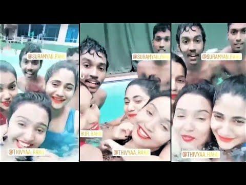 நீச்சல்குளத்தில் ஆண் நண்பருடன் லாஸ்லியா வீடியோ !!| TamilCineChips