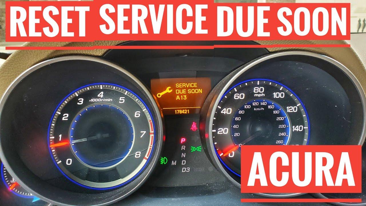 Acura A20 Service Code   20/20