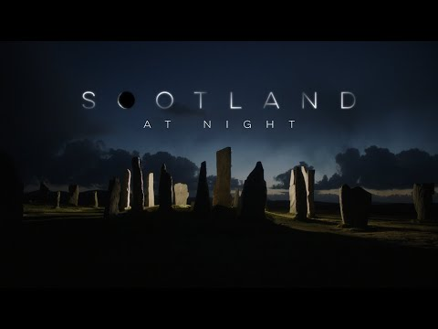 Scotland at night