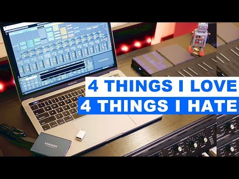 2017 MacBook Pro for Music  LOVE & HATE