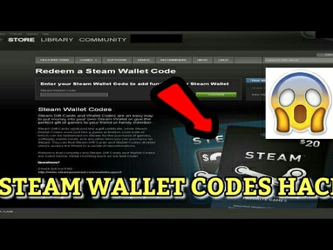 STEAM WALLET CODES HACK 1000 WORKING!!!