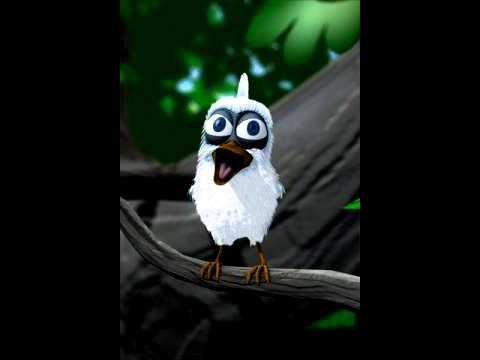 Talking bird singing abcd