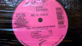 MC D Gold Feel The Sound Of My Music Plaza Dub