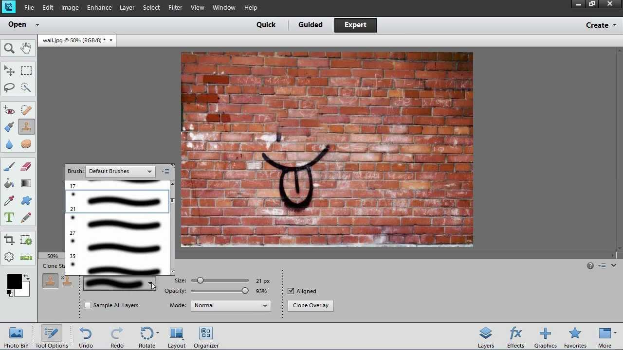 How To Use Photoshop Elements Clone Stamp Tool Youtube