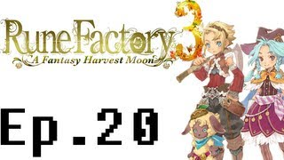 Rune Factory 3: A Fantasy Harvest Moon Playthrough Ep. 20. Woolie Festival