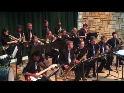 Edina high school jazz band 2016 at Edinborough Park
