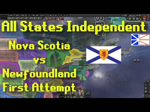 Hearts of Iron 4   All States Independent   Nova Scotia vs Newfoundland Attempt 1 (5)