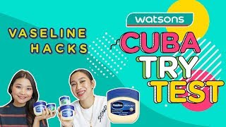 💥Vaseline Hacks ft Nina Nadira & Loca. B | Ep. 9 Cuba.Try.Test💥