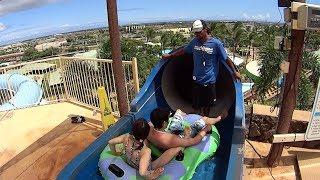 Waimea Whirl Water Slide at Wet