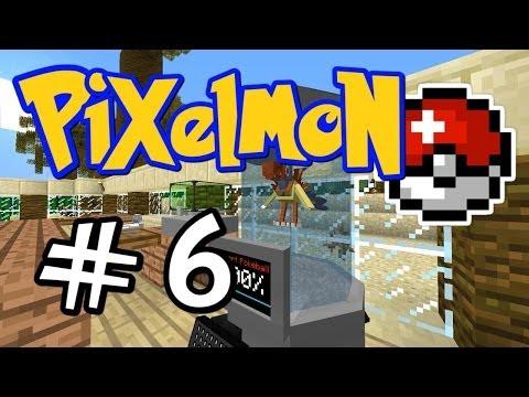 "Minecraft Pixelmon - E06 ""Archen DNA Extraction!"" (Pokemon Mod for Minecraft!)"