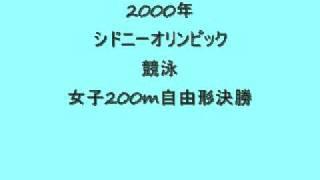 シドニーオリンピック_競泳女子200m自由形決勝