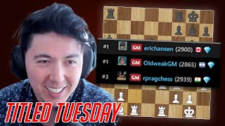 I WAS SO CLOSE | Fighting for FIRST PLACE in Titled Tuesday