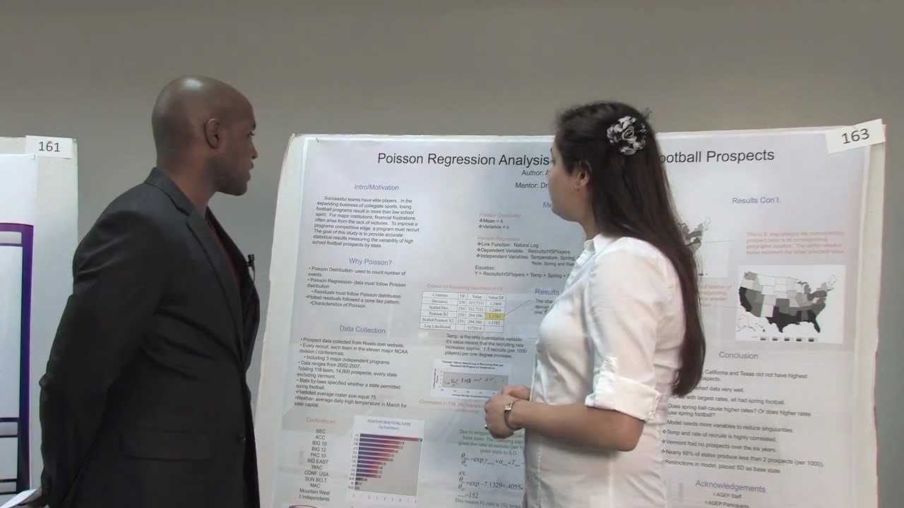 giving an effective poster presentation - youtube, Presentation templates