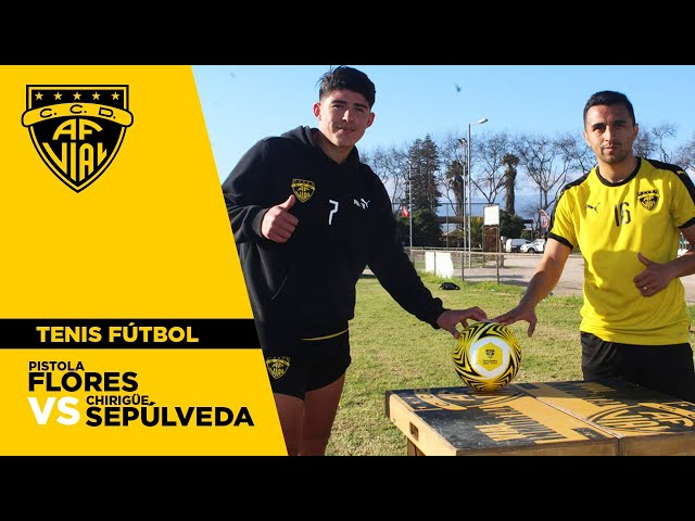 Pistola Flores vs Chirigüe Sepúlveda | Desafío Fútbol Tenis