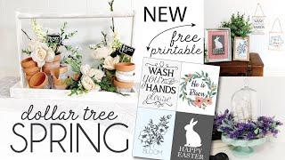 Dollar Tree Spring DIY 2020 | Friend Friday | Christina Elizabeth Collab