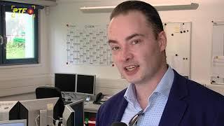 Nicolas Gregg (AfD) zu Besuch in der RTF.1-Redaktion