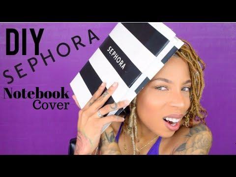 SEPHORA SELLS BOOK COVERS!? DIY School Supplies