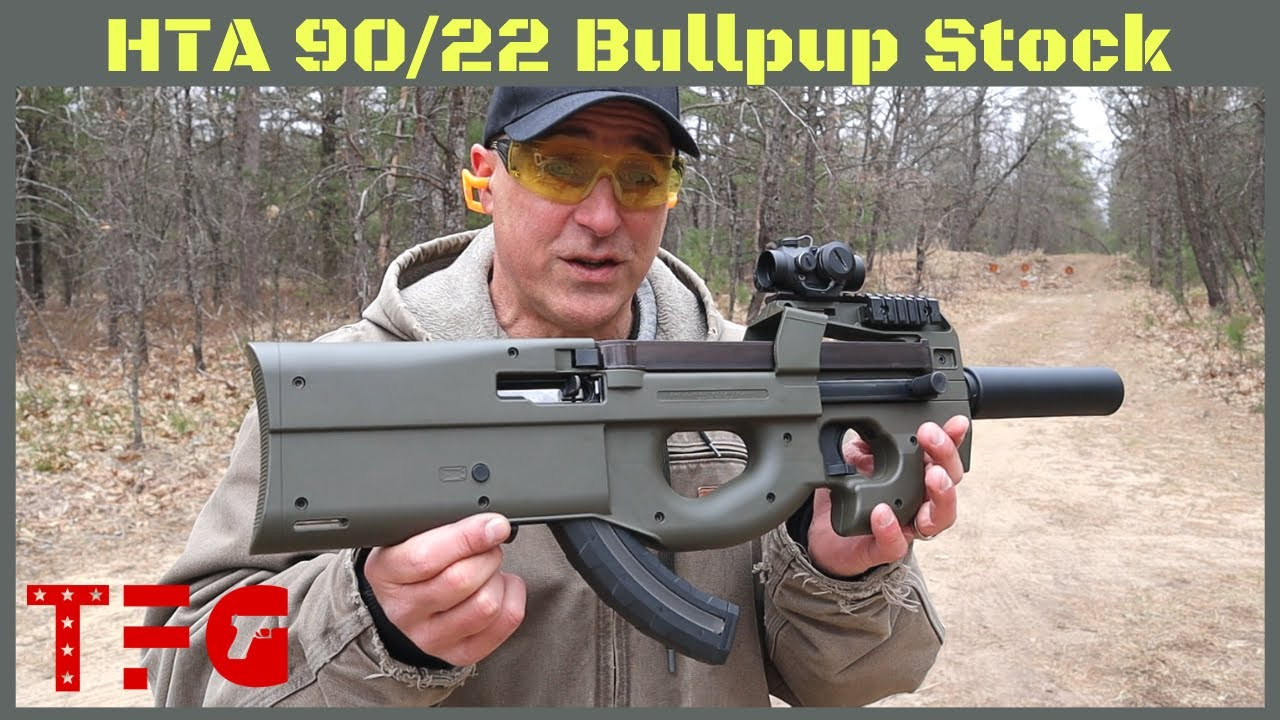 Download High Tower Armory (HTA) 90/22 Bullpup Kit for a Ruger 10/22 - TheFirearmGuy