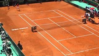 Ultimo juego Rafa Nadal-Richard Gasquet Semifinal Copa Davis 2011 España / Francia
