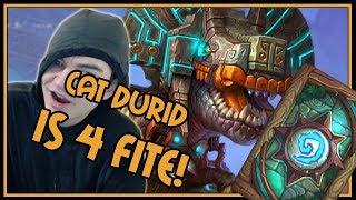 Playing my new favorite deck! | Beast Druid | Rastakhan's Rumble | Hearthstone