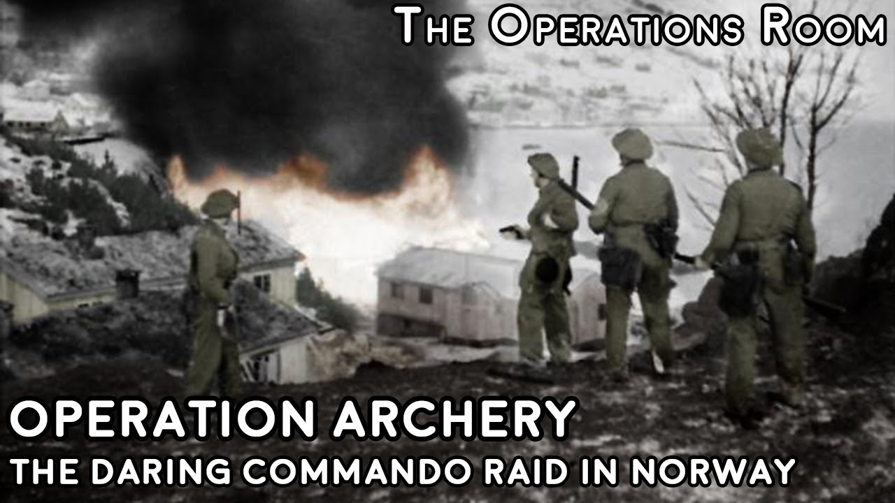 Operation Archery - The Daring Commando Raid on Måløy, Norway, 1941 - Animated