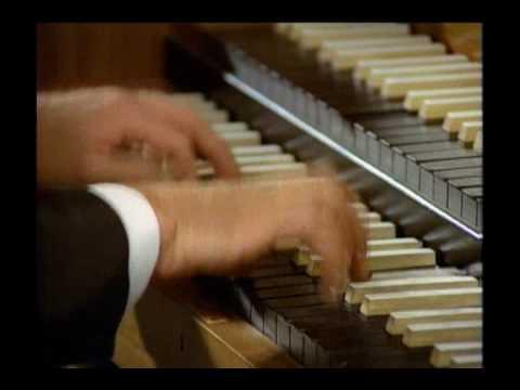 Karl Richter - Brandenburg Concerto 5 (harpsichord solo)