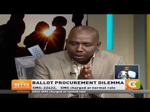 The Big Question: Ballot Procurement Dilemma