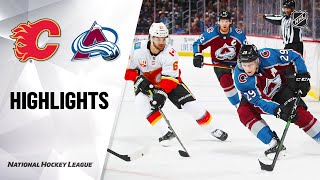 Flames @ Avalanche 10/03/19 Highlights
