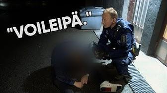 Oulun poliisit ja väsynyt voileipämies | Poliisit