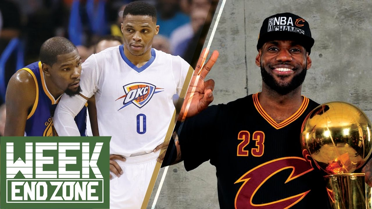 2ccc7aff3b83 Kevin Durant   Russell Westbrook REUNITING in OKC ! LeBron s Legacy vs Tom  Brady s -WeekEnd Zone