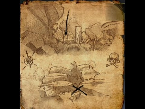 Hew's Bane Treasure Map II
