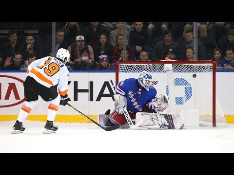 Flyers and Rangers take it to a shootout for the win