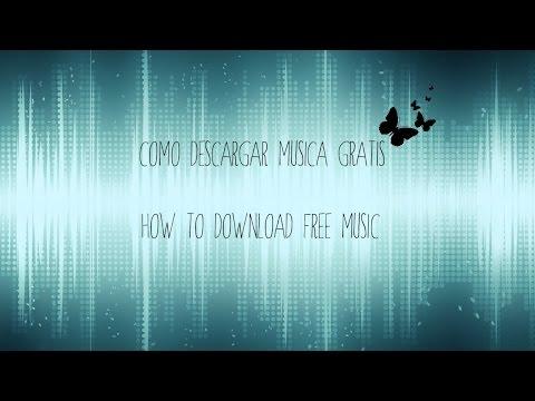 Tutorial - Como descargar musica gratis!! | How to download free music ❤