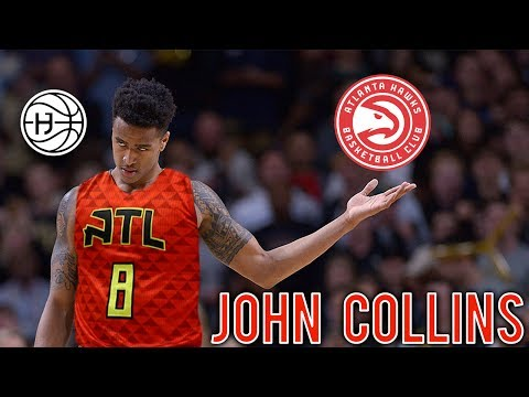 Atlanta Hawks Draft FREAK ATHLETE John Collins! FULL EXCLUSIVE PRE DRAFT WORKOUT