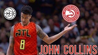 Atlanta Hawks Draft FREAK ATHLETE John Collins! FULL EXCLUSIVE PRE DRAFT WORKOUT