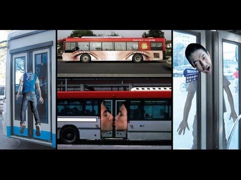 Creative and Funny Bus Stop Ads - Bus Ads Advertising Effectiveness