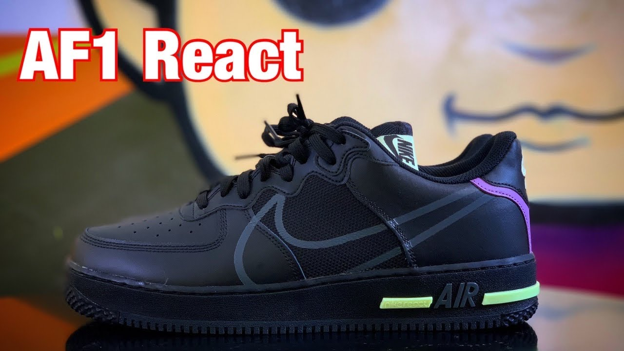 air force 1 hombre react